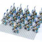 Warcraft King Stormwind City Anduin Wrynn soldiers Minifigures Compatible Lego movie set
