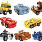 Cars Lightning McQueen Mater Sheriff building block Toy Compatible Lego Minifigures