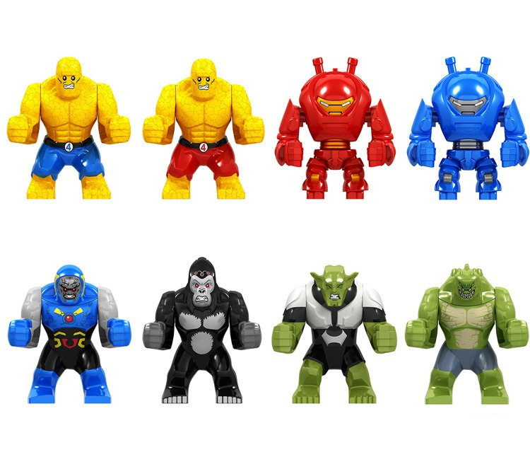 Thing Darkseid HulKbuster Minifigures Compatible Lego Avengers Super Heroes