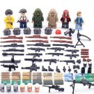 Military Game PUBG Minifigures Compatible Lego Toy Military Soldiers