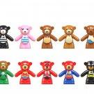 14pcs Teddy Bear Cosplay Super Heroes Minifigures Compatible Lego Toy Teddy Bear set