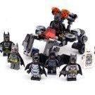 8pcs Batman Minifigures Batmobile Compatible Lego Toy Super Heroes Batman