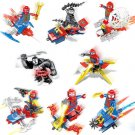 The Amazing Spider-Man Minifigures Chariot Compatible Lego Toy Super Heroes Venom