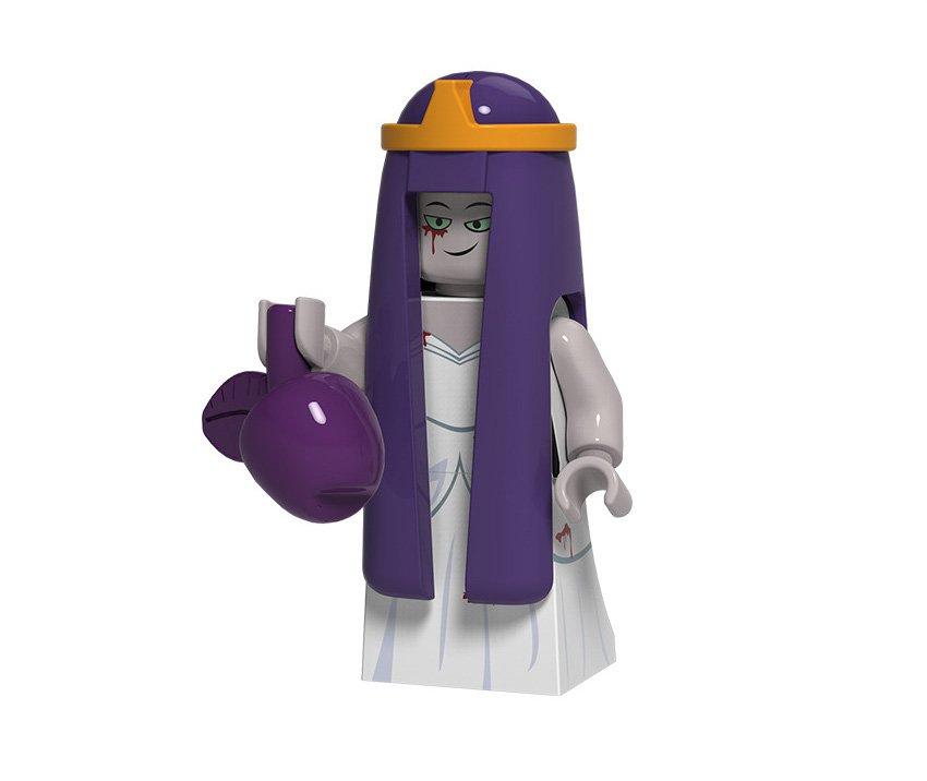 Wedding Banshee Minifigures Compatible Lego Toy Halloween Series Minifigures