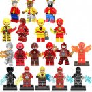 18pcs The Flash Minifigures Compatible Lego Toy Justice League The Flash Set