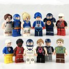 Baseball Tennis Football Athlete Minifigures Compatible Lego Toy Sports Minifigure