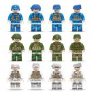 Army Navy Air Force Minifigures Compatible Lego Military soldiers Toy
