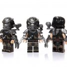 3pcs Predator Minifigures Compatible Lego 2018 The Predator Movie Toy
