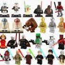 24pcs Star Wars Minifigures Amidala C-3PO Vader Toy Compatible Lego Star Wars set