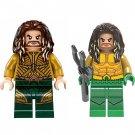 2pcs Aquaman Arthur Curry Minifigures Compatible Lego Toy DC Movie sets