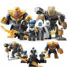 Thanos Black Order Corvus Glaive Minifigures Compatible Lego Toy Avengers Superhero set