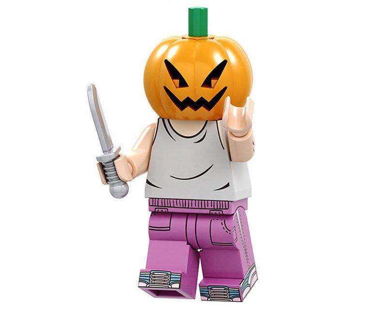 Pumpkin Cari Minifigures Compatible Lego Halloween Toy