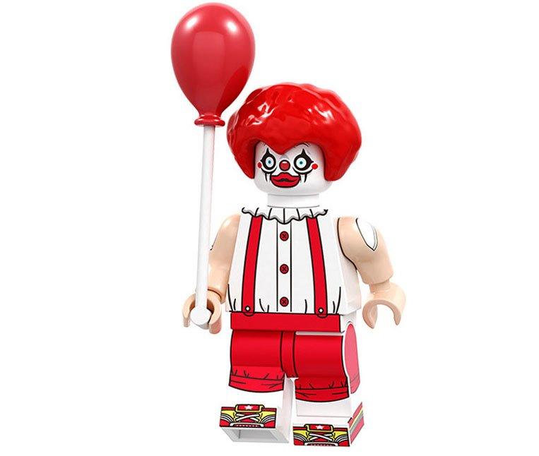 Joker Hunter Minifigures Compatible Lego Christmas building block Toy