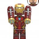 Nanometre Iron Man Minifigures Compatible Lego Toy Marvel Superhero Toy
