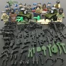 14pcs SEAL Jungle assault Terrorists Minifigures Compatible Lego Toy Military Minifigures