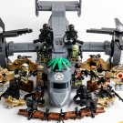 Boeing Bell V-22 SEAL Soldiers Minifigures Compatible Lego Toy Military Soldiers sets