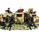 Army Commando Minifigures Panzer Missile building block Toy Compatible Lego Military sets
