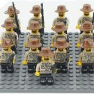 West cowboy soldiers Minifigures Compatible Lego Toy Movie Military Toy