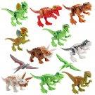 12pcs Dinosaur Tyrannosaurus-Rex Pterosaur building block Toy Compatible Lego Minifigures