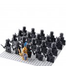 21pcs Medieval Knights Shadow Corps Minifigures Compatible Lego Medieval Knights Toy
