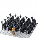 21pcs The Crusaders Minifigures Compatible Lego Toy Medieval Knights Minifigure