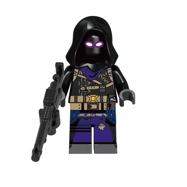Fortnite Raven Minifigures Compatible Lego Fortnite Toy
