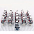 21pcs Wolfpack Squad 104th Battalion Wolffe Minifigures Compatible Lego Star Wars Minifigure