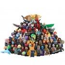 62pcs DC Marvel Super Heroes Minifigures Compatible Lego Toy Super Heroes Minifigure