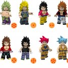 Dragon Ball Broli Burdock Vegeta Minifigures Compatible Lego Toy Dragon Ball Z