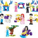 Cinderella Belle First Minifigures Compatible Lego Toy Girl Series Minifigure