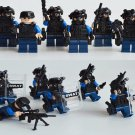 Military series S.W.A.T. Character Minifigures Compatible Lego Toy Military Soldiers Minifigure
