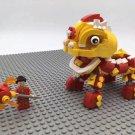 Hong Kong Lion Dance building block Toy Compatible Lego Toy City Minifigures