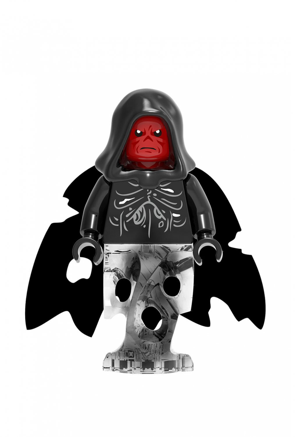 Red Skull Minifigures Compatible Lego Toy Marvel Super Heroes Minifigure