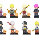 Super Saiyan Burdock Son Goku Minifigures Compatible Lego Toy Comic sets
