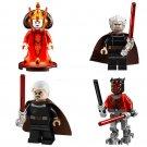 Amidala Count Dooku Darth Maul Minifigures Compatible Lgeo Star Wars Minifigures