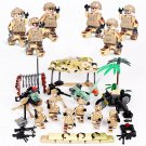 Military Storm Troops soldiers Minifigures Compatible Lgeo WW2 Soldiers Toy
