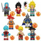 Piccolo Burdock Saiyan Minifigures Compatible Lgeo Toy Dragon Ball Minifigures