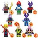 Majin Boo Goku Ssj Xeno Bills Minifigures Compatible Lgeo Toy Dragon Ball Z