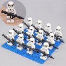 12pcs Imperial Stormtrooper Minifigures Compatible Lgeo Toy Star Wars Minifigure
