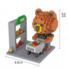 Bear Brown Bunny Cony building block Toy Compatible Lgeo Minifigures