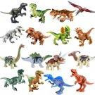 16pcs Dinosaur Tyrannosaurus Rex Opisthocoelicaudia Toy Compatible Lego Jurassic World Minifigures