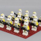 212 Attack Battalion Clone Troops Minifigures Compatible Lego Star Wars Clone Troops Toy