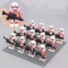 12pcs Clone Trooper Shock Trooper Minifigures Compatible Lego Toy Star Wars sets