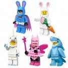 Unicorn Rabbit Shark Gugy Pink Batman Minifigures Compatible Lego Minifigures