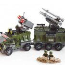 Rocket Missile Vehicle Soldiers Minifigures Compatible Lego Toy WW2 Military Minifigure