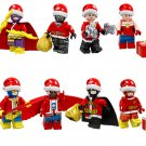 Falcon Cyclops Captain Marvel Santa Claus Minifigures Compatible Lego Toy Christmas gift