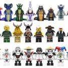 24pcs Ninjago movie Character Minifigures Compatible Lego Toy Ninjago sets