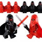 6pcs Emperor's Royal Guard Minifigures Compatible Lego Toy Star Wars Minifigures