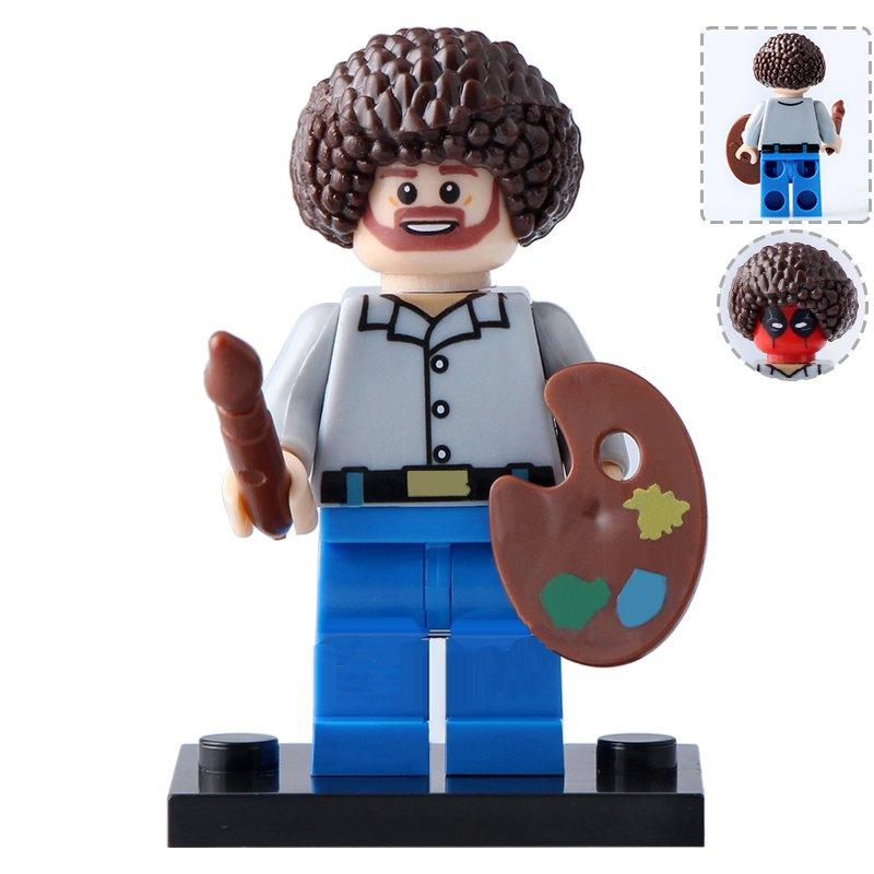 Painter Deadpool Minifigures Compatible Lego Toy Super Heroes Minifigure