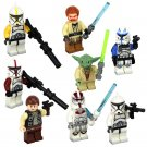 Obi-Wan Kenobi Master Yoda Clone Trooper Minifigures Compatible Lego Toy Star Wars sets